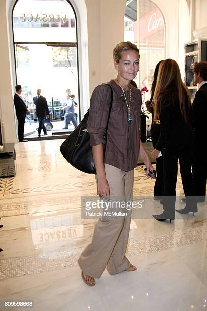 Lauren DuPont attends VERSACE Luncheon to Celebrate the Launch of the Hit Bag at Versace on September 6 2007 in New York City
