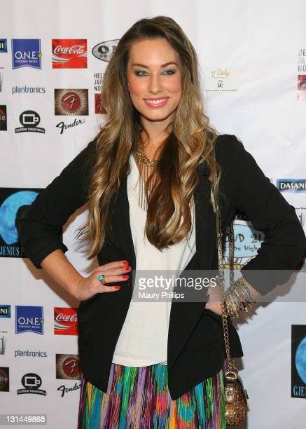 Lauren Elaine arrives at GJenius Productions Presents 'Rift' Movie Premiere at Laemmle's Music Hall 3 on April 28 2011 in Beverly Hills California