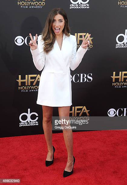 Lauren Elizabeth arrives at the 18th Annual Hollywood Film Awards at The Palladium on November 14 2014 in Hollywood California