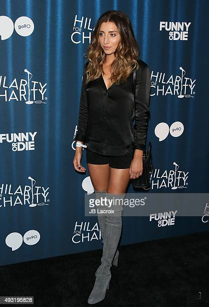 Lauren Elizabeth arrives at the James Franco's Bar Mitzvah Hilarity For Charity's 4th Annual Variety Show at Hollywood Palladium on October 17 2015...