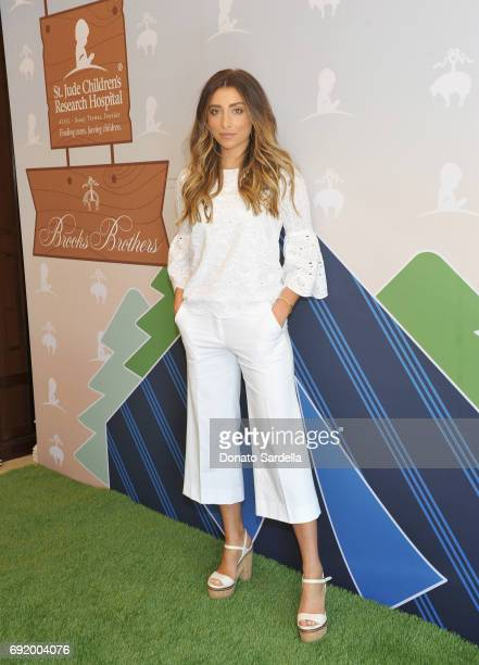 Lauren Elizabeth at the Brooks Brothers Beverly Hills summer camp party benefitting St Jude Children's Research Hospital at Brooks Brothers Rodeo on...