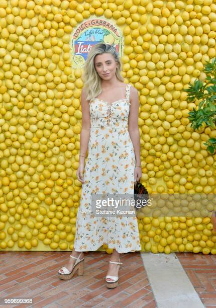 Lauren Elizabeth attends the Dolce Gabbana Light Blue Italian Zest Launch Event at the NoMad Hotel Los Angeles on May 17 2018 in Los Angeles...