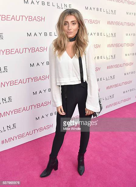 Lauren Elizabeth attends the Maybelline New York celebration of their latest collection with an LA beauty bash hosted By Gigi Hadid with celebrity...