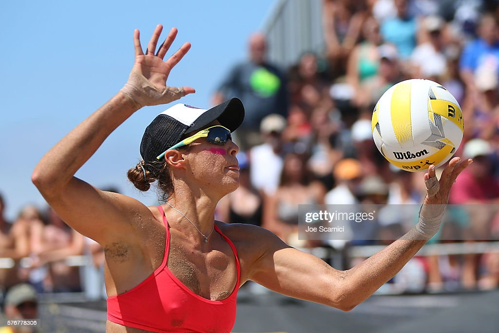 AVP Beach Volleyball Manhattan Beach - Day 4 : News Photo