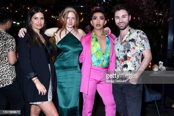 Lauren Fitzgerald Dru Sasenbach Bretman Rock and Paul Samaha attend Jungle Rock x wet n wild on February 21 2020 in Los Angeles California