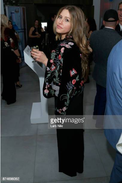 Lauren Fleishman attends the Blu Perfer Blue Brut Launch Party for The 2018 8th annual Better World Awards on November 15 2017 in New York City