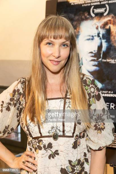 Lauren Fox attends 7 Splinters in Time New York premiere at The Anthology Film Archives