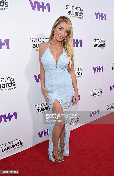 Lauren Francesca attends VH1's 5th Annual Streamy Awards at the Hollywood Palladium on Thursday September 17 2015 in Los Angeles California