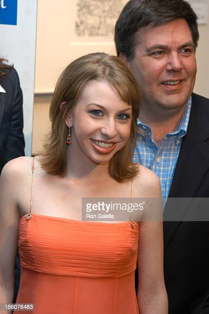 Lauren Frost Kevin Meaney during Comedy Tonight A Night of Comedy to Benefit the 92nd Street Y at 92nd Street Y in New York City New York United...