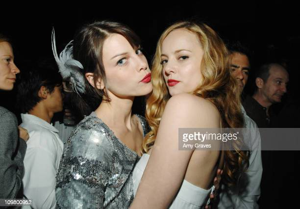 Lauren German and Bijou Phillips during Lionsgate Hosts Special Screening of 'Hostel Part II' After Party at The Roosevelt Hotel in Hollywood...