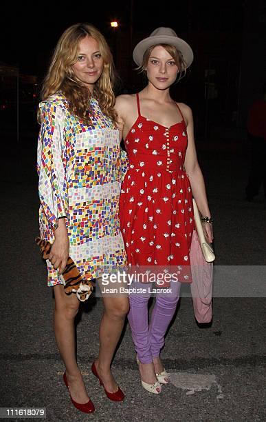 Lauren German and Bijou Phillips sighting on March 9 2008 in Culver City California
