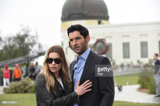 Lauren German and Tom Ellis in the Boo Normal/Once Upon a Time twohour bonus episode of LUCIFER airing Monday May 28 on FOX Photo by FOX Image...