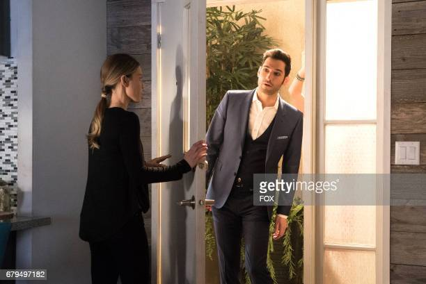 Lauren German and Tom Ellis in the Candy Morningstar spring premiere episode of LUCIFER airing Monday May 1 on FOX