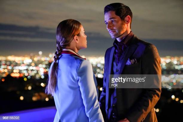 Lauren German and Tom Ellis in the Quintessential Deckerstar episode of LUCIFER airing Monday May 7 on FOX Photo by FOX Image Collection via Getty...