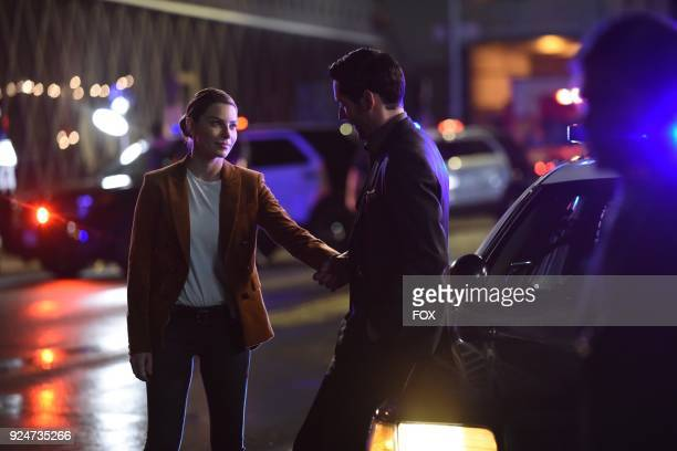 Lauren German and Tom Ellis in theInfernal Guinea Pig episode of LUCIFER airingMonday March 5 on FOX