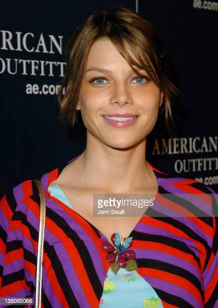 Lauren German during American Eagle Outfitters Rocks Los Angeles with a Back to School Tailgate Party Red Carpet at Hollywood Lot in Hollywood...