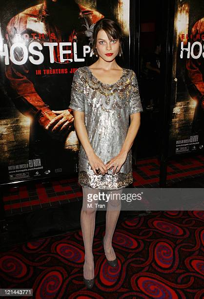 Lauren German during Hostel Part II Los Angeles Premiere Arrivals at Mann's Chinese 6 in Hollywood California United States