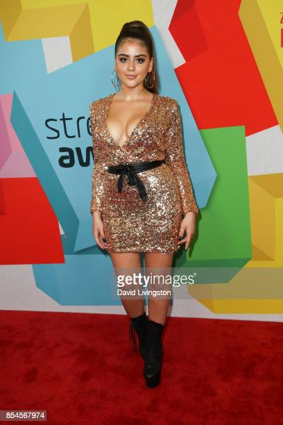 Lauren Giraldo attends the 7th Annual 2017 Streamy Awards at The Beverly Hilton Hotel on September 26 2017 in Beverly Hills California