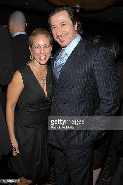 Lauren Glassberg and Federico Castelluccio attend LIVE4LIFE Benefit Gala at Mandarin Oriental on October 16, 2006 in New York City.