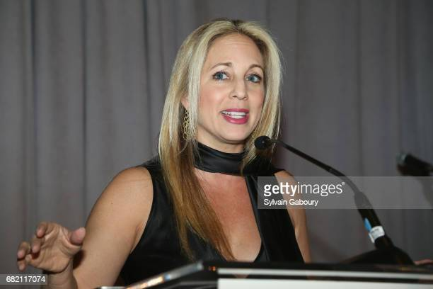 Lauren Glassberg attends Mrs Lily Safra Honored at ISEF Foundation's 40th Anniversary at Intercontinental New York Barclay on May 11 2017 in New York...