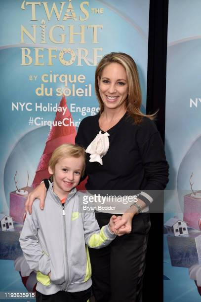 Lauren Glassberg attends the opening night of 'Twas The Night Before by Cirque Du Soliel at the Hulu Theater at Madison Square Garden on December 12...