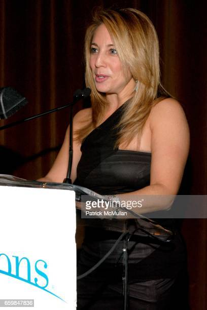 Lauren Glassberg attends The PAUL NEWMAN AWARD Bestowed to STEWART F. LANE and BONNIE COMLEY from ARTSHORIZONS at The Edison Ballroom on November 16,...