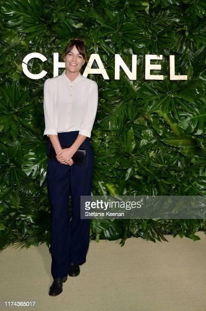 Lauren Glazier attends Chanel Dinner Celebrating Gabrielle Chanel Essence With Margot Robbie on September 12 2019 in Los Angeles California