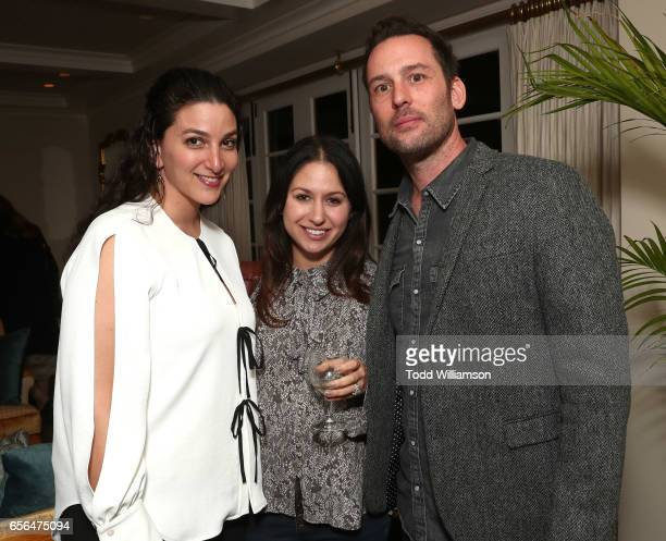 Lauren Gold Lauren Berger and Jeff Raymond attend a party for the 20th Anniversary of the Savannah Film Festival hosted by CAA Agent Tracy Brennan...