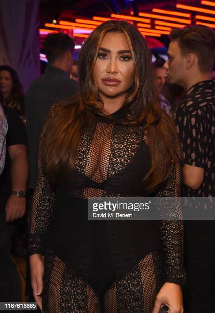 Lauren Goodger attends the grand opening of the Hard Rock Cafe Piccadilly Circus on September 12, 2019 in London, England.