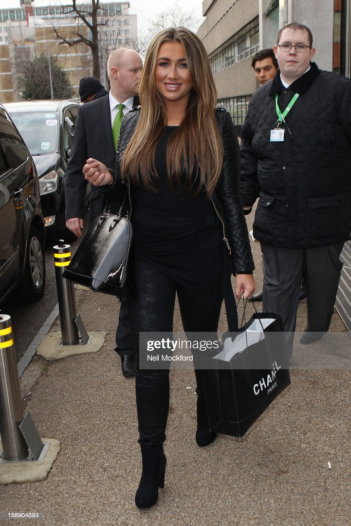 Dancing On Ice 2013 Stars Sighted At ITV Studios - January 3, 2013