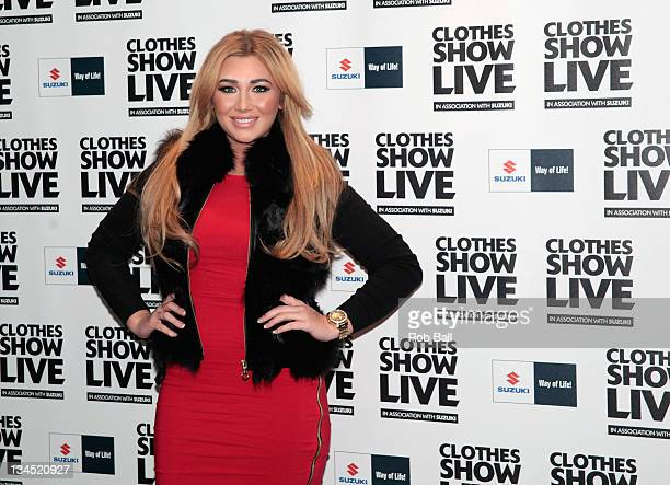 Lauren Goodger from The Only Way is Essex attends Clothes Show Live at NEC Arena on December 2 2011 in Birmingham England