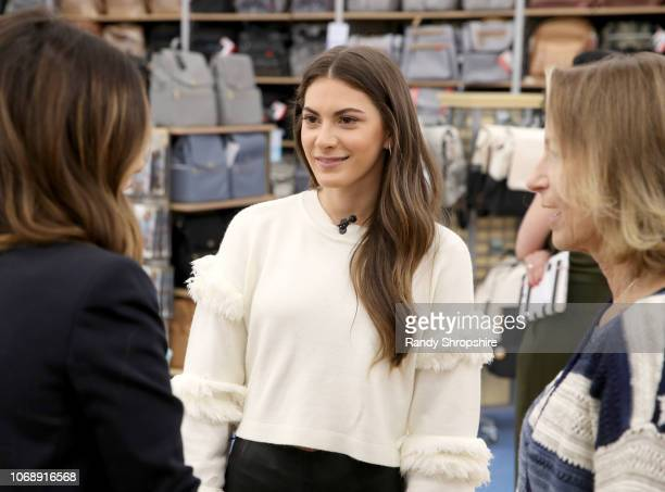Lauren Gores and guests attend the Whitney Port Bundle Organics #MomAsYouAre buybuyBABY product launch on November 17 2018 in Torrance California on...