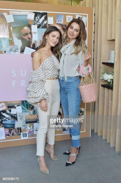 Lauren Gores Ireland and Annabelle Fleur attend Summer Fridays Skincare Launch With Marianna Hewitt Lauren Gores Ireland at Hayden on March 15 2018...