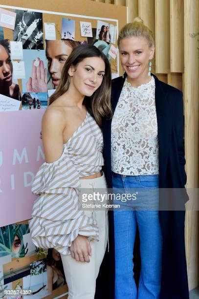Lauren Gores Ireland and Kelly Gores attend Summer Fridays Skincare Launch With Marianna Hewitt Lauren Gores Ireland at Hayden on March 15 2018 in...