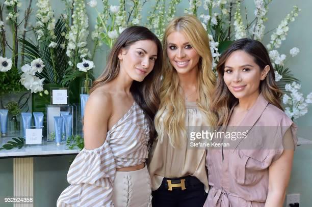 Lauren Gores Ireland Annie Lawless and Marianna Hewitt attend Summer Fridays Skincare Launch With Marianna Hewitt Lauren Gores Ireland at Hayden on...