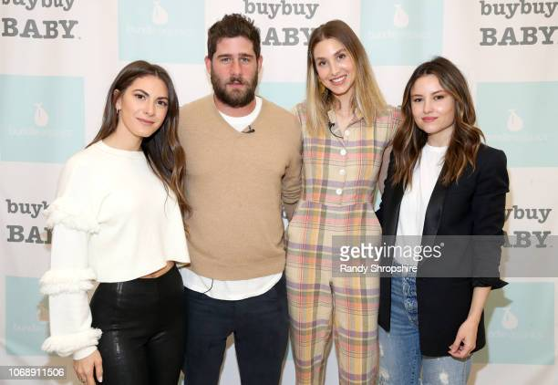Lauren Gores Tim Rosenman Whitney Port and Geri Hirsch attend the Whitney Port Bundle Organics #MomAsYouAre buybuyBABY product launch on November 17...