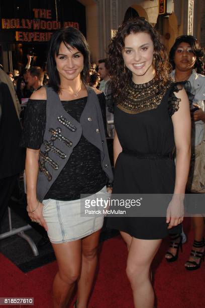 Lauren Gottlieb and Kathryn McCormick attend World Premiere of STEP UP 3D at El Capitan Theatre on August 2 2010 in Hollywood CA