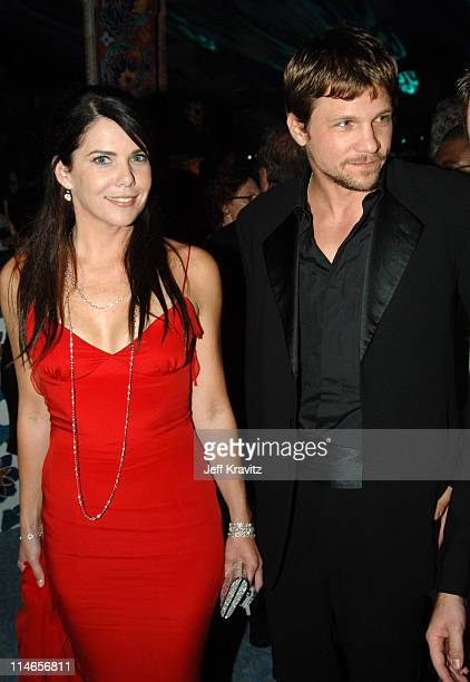 Lauren Graham and Marc Blucas during 57th Annual Primetime Emmy Awards HBO After Party at Pacific Design Center in West Hollywood California United...