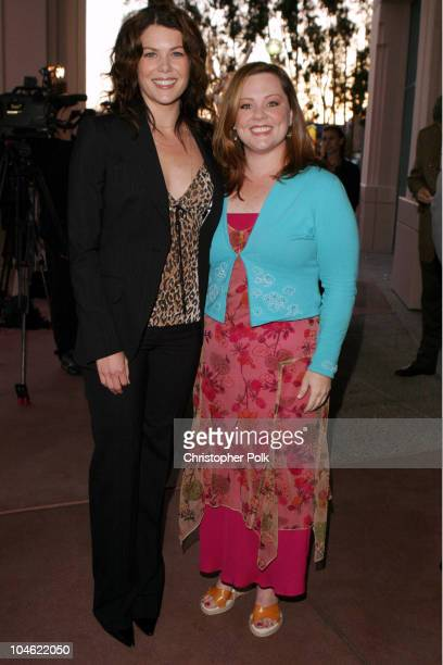 """Lauren Graham and Melissa McCarthy during ACADEMY OF TELEVISION ARTS & SCIENCES presents Behind the Scenes of """"Gilmore Girls"""" at Leonard H. Goldenson..."""