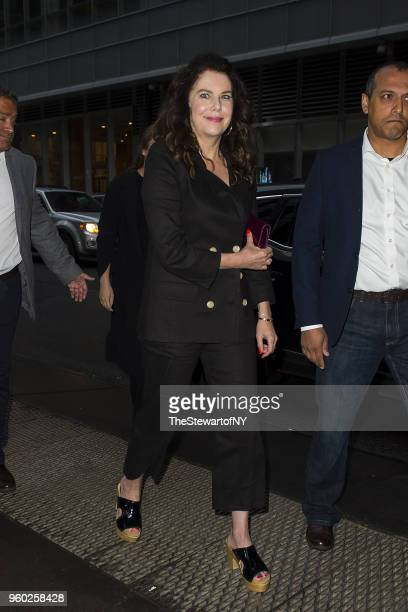 Lauren Graham arrives at Letter Live New York at Town Hall on May 19 2018 in New York City