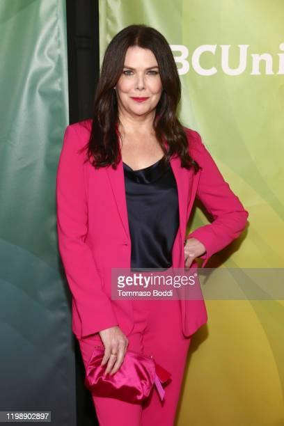 Lauren Graham attends the 2020 NBCUniversal Winter Press Tour at The Langham Huntington Pasadena on January 11 2020 in Pasadena California