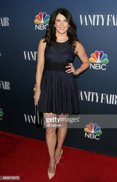 Lauren Graham attends the NBC And Vanity Fair 20142015 TV Season Red Carpet Media Event on September 15 in West Hollywood California