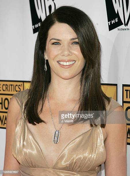 Lauren Graham during 10th Annual Critics' Choice Awards Arrivals at Wiltern LG Theatre in Los Angeles California United States