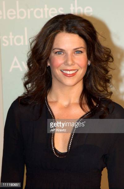 Lauren Graham during 2002 Women in Film Crystal Lucy Awards at Century Plaza Hotel in Los Angeles California United States