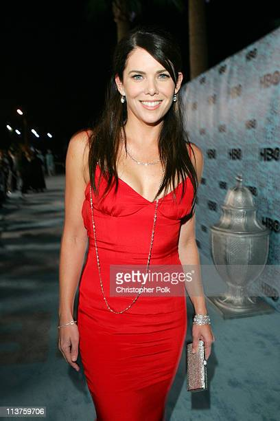 Lauren Graham during 57th Annual Primetime Emmy Awards HBO After Party at Pacific Design Center in West Hollywood California United States