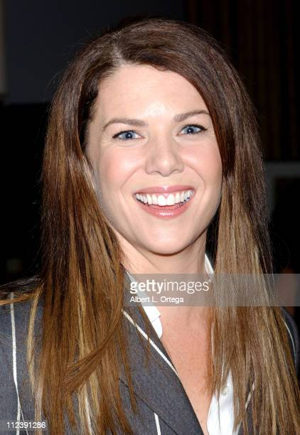 Lauren Graham during A Richard Tyler Fashion Show To Benefit The Big Bam at Bamboo Colony Design Studio in Los Angeles California United States