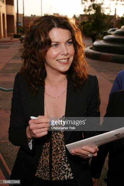 """Lauren Graham during ACADEMY OF TELEVISION ARTS & SCIENCES presents Behind the Scenes of """"Gilmore Girls"""" at Leonard H. Goldenson Theatre in North..."""