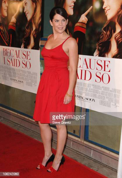 Lauren Graham during 'Because I Said So' Los Angeles Premiere Arrivals at Arclight Theater in Los Angeles California United States
