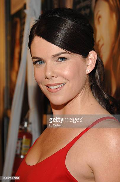 Lauren Graham during Because I Said So Los Angeles Premiere Red Carpet at Arclight in Los Angeles California United States