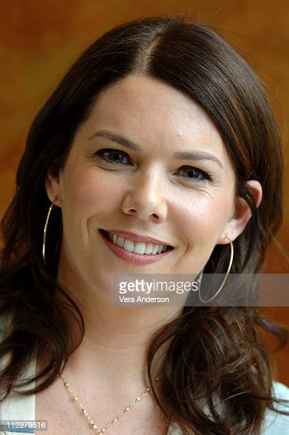 Lauren Graham during Because I Said So Press Conference with Diane Keaton Mandy Moore Lauren Graham and Gabriel Macht at Four Season Beverly Hills in...